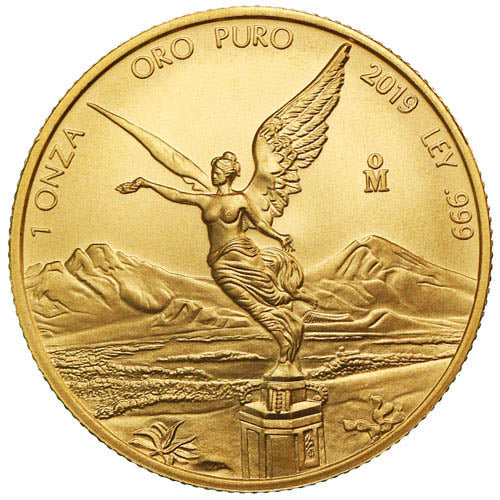 Banco de Mexico 1 oz Gold Libertad 2019