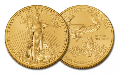 Gold American Eagle .10-oz