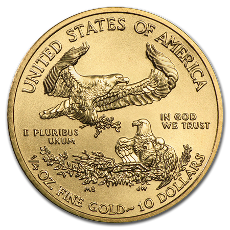 Gold American Eagle .25-oz