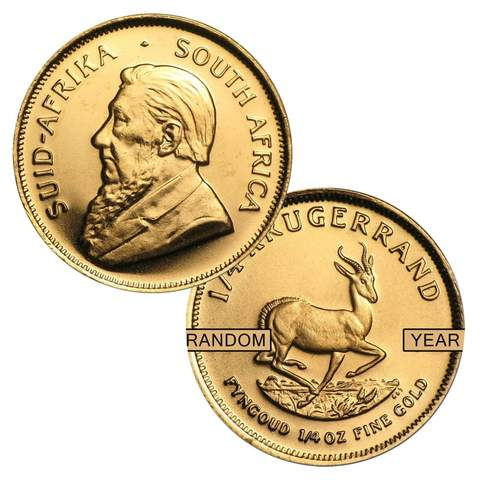 Gold South-African Krugerrand 1 oz
