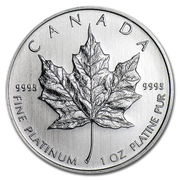 Platinum Canadian Maple Leaf 1 oz