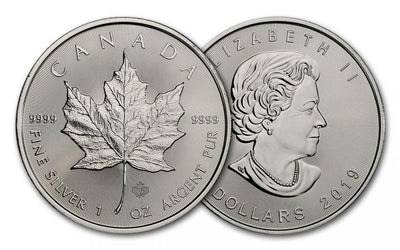 Silver Canadian Maple Leaf 1 oz