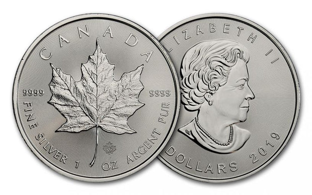 Canadian Silver Maple Leaf 1 oz 2019