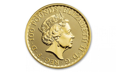 UK Gold Britannia 1 oz 2020