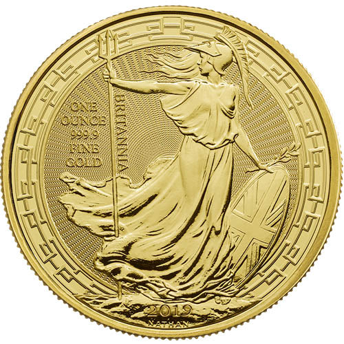 UK Gold Britannia Oriental Border 2019