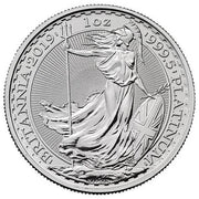 UK Platinum Britannia 1 oz 2019