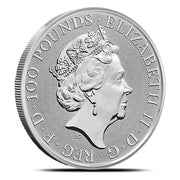 UK Platinum Royal Arms 1 oz 2020