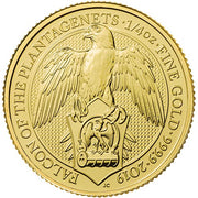 UK QB Gold Falcon 1/4 oz 2019