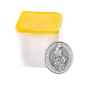 UK QB Platinum Bull 1 oz 2019