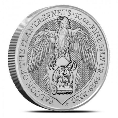 UK QB Silver Falcon 10 oz 2020