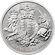 UK Silver Royal Arms 1 oz 2020