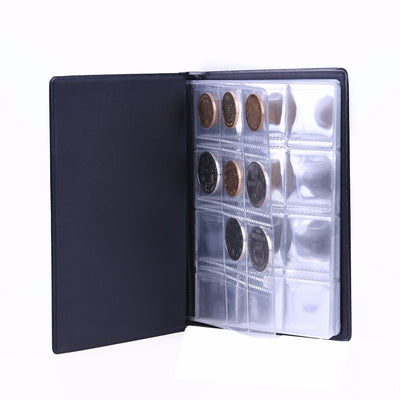 120 Pocket Coin Album Collection Book