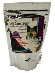 Vibrant Pets Skin and Coat 8oz