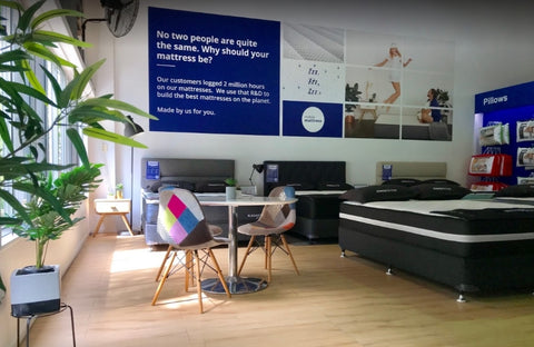 Mobile Mattress showroom in Capalaba accepts Afterpay