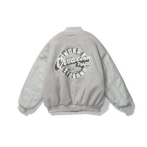 Original Grey Baseball Jacket