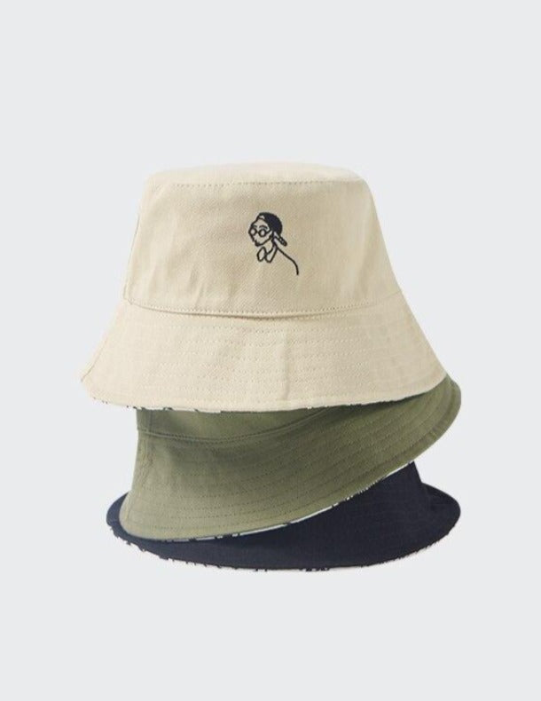 Double-sided Bucket Hat