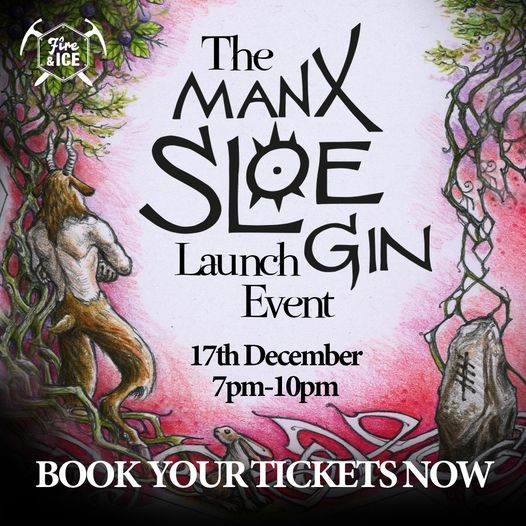 Manx Sloe Gin Launch Event