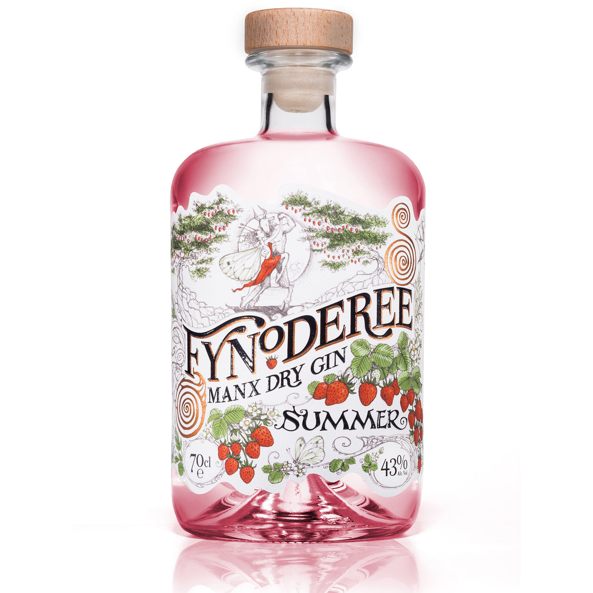 SOLD OUT: Fynoderee Manx Dry Gin - Pink Summer Edition