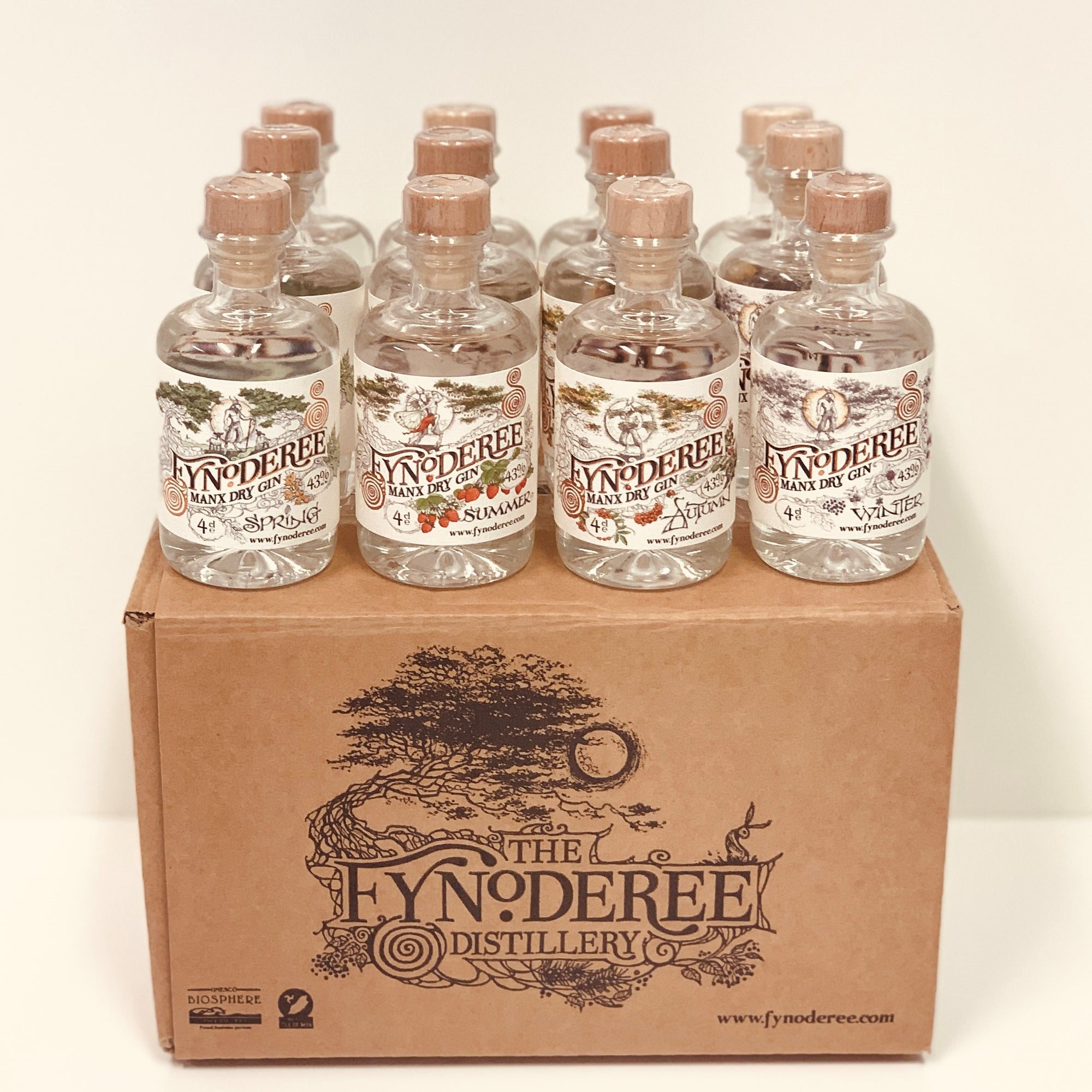 Fyniatures Case - 12 x 4cl bottles