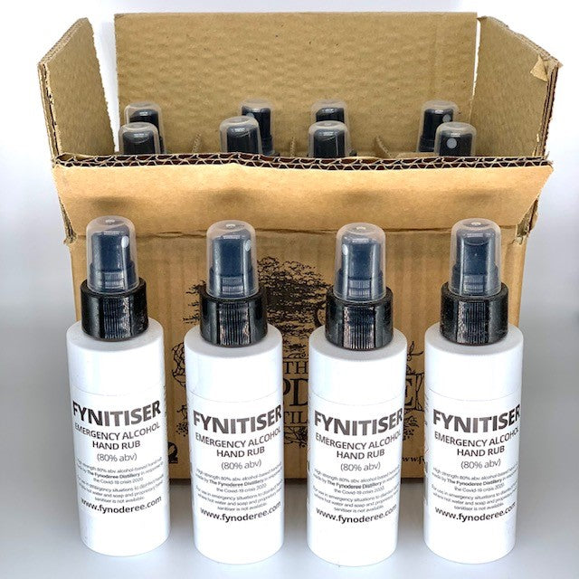FYNITISER - 12 x 100ml atomiser bottles