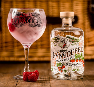 CURRENT SEASON - Fynoderee Manx Dry Gin - Summer Edition