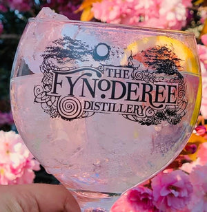 Fynoderee Distillery Balloon Glasses x2