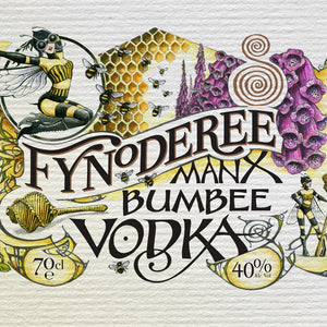 Fynoderee Manx Bumbee Vodka
