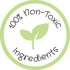 100% Non-Toxic Ingredients