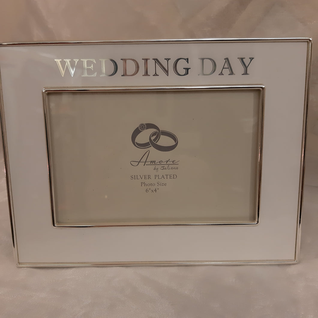 Amore wedding day frame 4x6