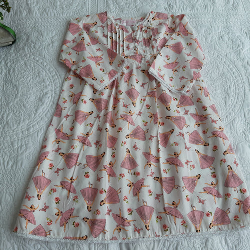 Powell craft nightdress pink floral