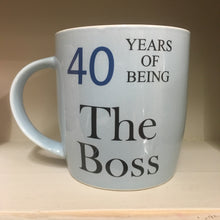 Birthday Boss Mugs