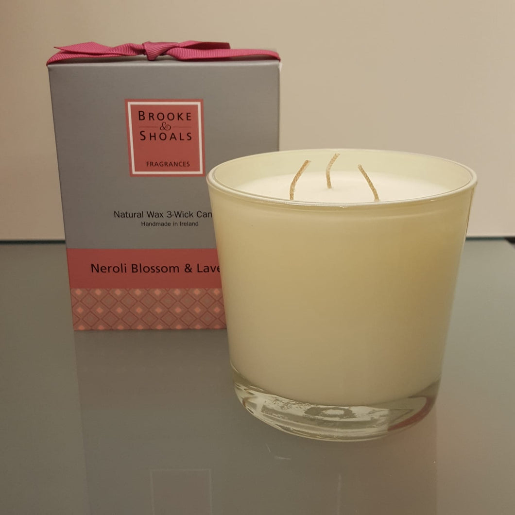 Brooke & Shoals 3 wick Candle
