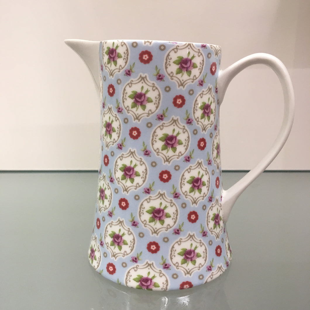 Shannonbridge Blue Buds Jug