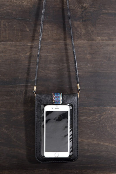 Tribal Print Cell Phone Bag