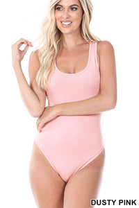 Premium Cotton Racer Back Body Suit