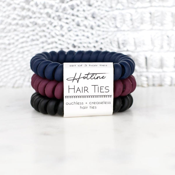 Matte Sets Hotline Hair Ties