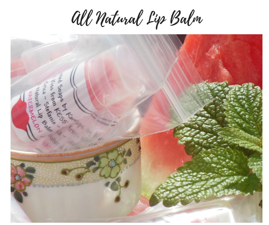 All Natural Lip Balm-3 Flavors!