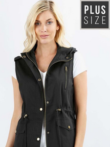 a777de3984157 Curvy In-Vested in You utility vest with hood