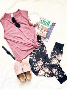 Cozy Floral Lounge Set S-XL