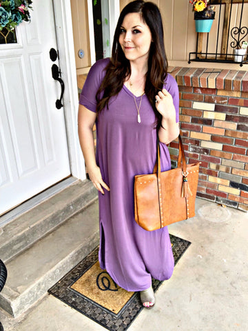 Totally Wearable T-shirt Maxi Dress