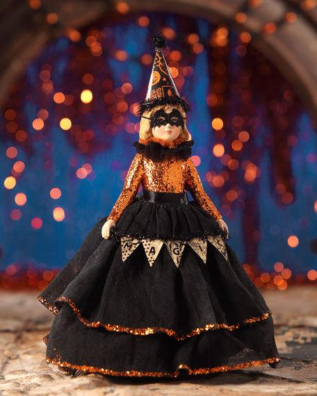 Magic Halloween Masquerade Doll