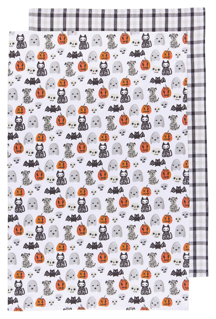 Happy Halloween Dish Towels - Set of 2