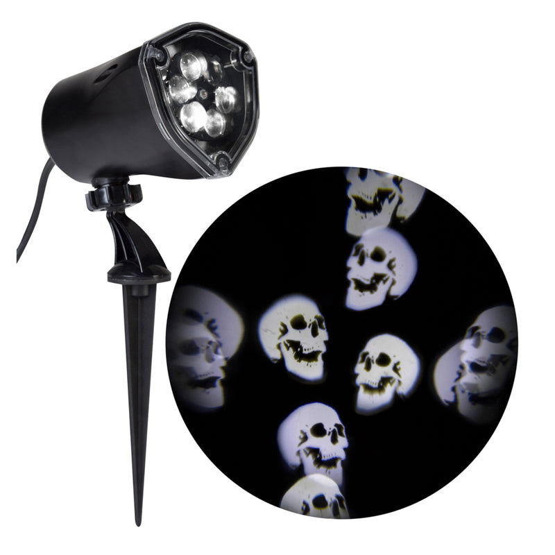 Lightshow Projector - Whirling Skulls
