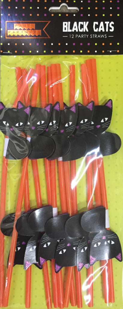 Black Cat Straws