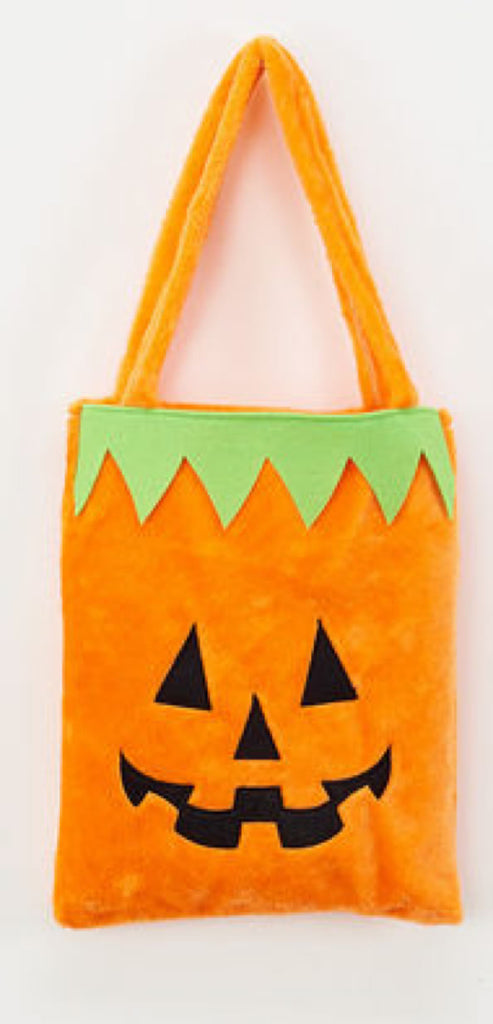 Furry Treat Pumpkin Bag