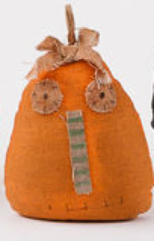 Fabric Pumpkin Head