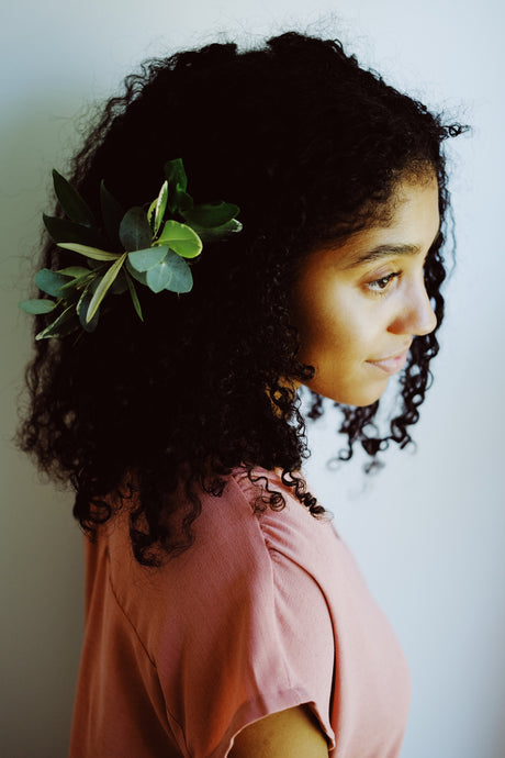 Greenery Hair Piece