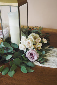 Eliza Table Wreath with Flowers