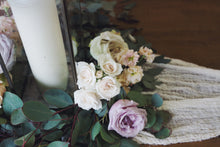 Load image into Gallery viewer, Eliza Table Wreath with Flowers