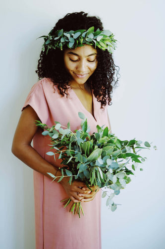 Greenery Hair Crown
